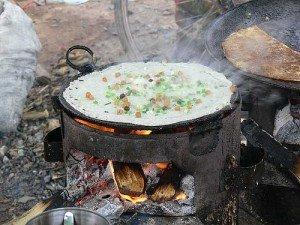Burmese Butterbean Pancake