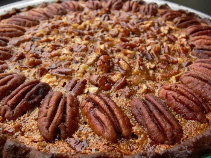 Honey, Date, And Pecan Tart Recipe — Dishmaps