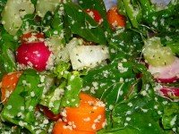Hemp Hearts Salad