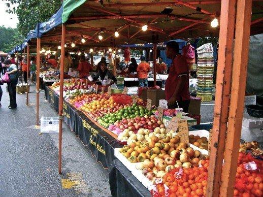 Outdoor Market Malaysia :: Hella Delicious