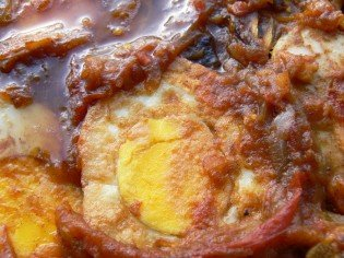Burmese Egg Curry