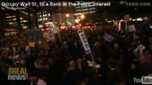#OccupyWallStreet Calls For a Public Option in Banking
