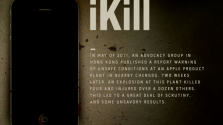 iKill – Infographic on Apple