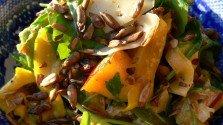Nectarine and Rocket Salad