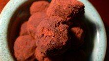 Old-Fashioned Dark Chocolate Truffles