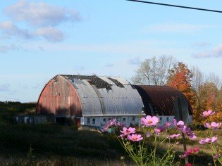 old-barn-with-flowers